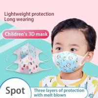 Masker Duckbill Anak dan Bayi 3-ply Ecer 1 pcs Earloop Protevtive Face