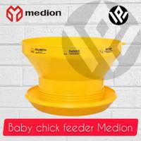 DOC Feeder Medion tanpa tutup Baby chick feeder Medion anak ayam