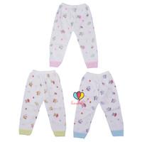 Celana Panjang Bayi / New Born 0-6 Bulan Baby Pants Bahan Katun Baju