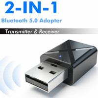2 in 1 USB Dongle HiFi Audio Bluetooth Transmitter & Receiver