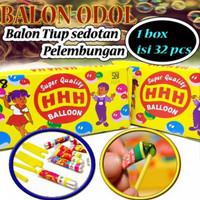 BALON TIUP SEDOTAN JADUL HHH ( 1 BOX ISI 32 PCS )
