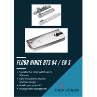 Floor Hinge Dorma BTS84 BTS 84 EN3 SS 90 DERAJAT WITH ALL ACCESSORIES