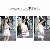 tas selempang wanita import korea style trendy bag