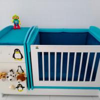 Jual Baby Box Bayi (kayu,busa bludru)