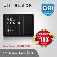 WD Black P10 4TB Game Drive - Hardisk Eksternal Gaming