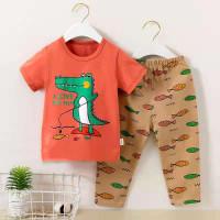 Baju tidur lengan pendek celana panjang anak laki-laki / piyama import - DB 3, 55