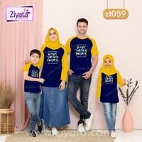 Baju Kaos Keluarga Couple Family Anak Ayah Bunda