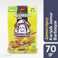 Jamor chipsy - Keripik Jamur Barbeque - Camilan Sehat