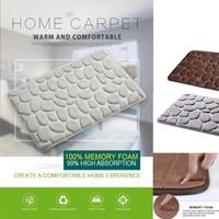 Coral Memory Foam Mat / Keset Kaki Rumah Dapur Pintu Kamar Anti Selip