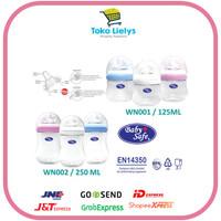 Baby Safe Wide Neck WN001 WN002 Milk Bottle botol susu 125ml 250ML