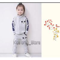 Stelan Sweater Anak Perempuan/Baju Anak perempuan Motif Mickey