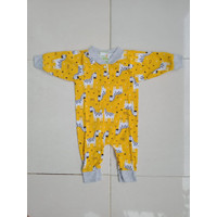 Baju Bayi New Born, overall, jumper, Romper Merk Velvet Kaki Buka