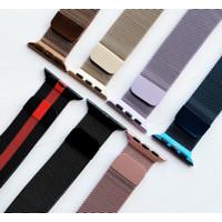Apple Watch Milanese Strap 1 2 3 4 5 38 40 42 44 mm Tali Jam Tangan