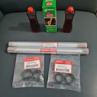 Paket As shock Sok Depan Honda Beat Fi Scoopy F1 Vario 110 125 150 New