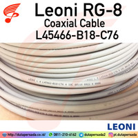 Kabel Leoni RG-8 50 ohm Coaxial Cable L45466-B18-C76 RG8 Belden 9913