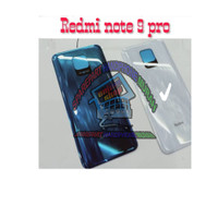 BACKDOOR BACK CASING TUTUP BELAKANG XIAOMI REDMI NOTE 9 PRO ORIGINAL