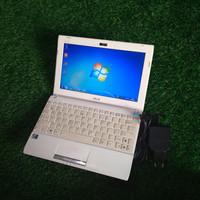 Netbook Asus 1025C Dual Core Ram 2GB Second Putih Mulus