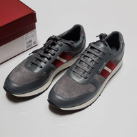 Sepatu Bally Sprinter Sneakers Grey Original cf
