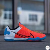Sepatu Futsal Nike React Gato Red Blue Premium Original