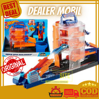Hot Wheels City Downtown Series Playset Building Track Mobil