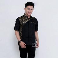 seragam kemeja baju batik kantor/ baju batik kombinasi