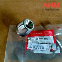 Jalu stang end grip bandul balance Honda PCX original AHM