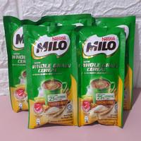 Milo with Whole Grain Cereal Malaysia Sereal Sachet