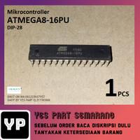 AVR MICROCONTROLLER ATMEGA8-16PU DIP 28 ATMEGA 8 - 16PU