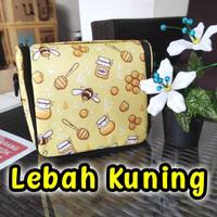 Cooler Bag Asi Momza / Tas Penyimpan Asi (Free Ice Gel 500g) - Lebah Kuning
