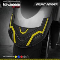 Hayaidesu FORZA Body Protector Front Fender Cover - Kuning