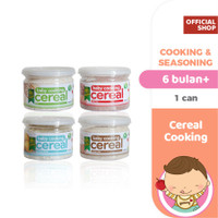 Pureeland Baby Cereal Cooking 4 Can / MPASI Bayi Organik - 1 Can
