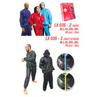 Sauna Suit Speeds LX036-02/Baju Sauna Suit Speeds Jas Celana