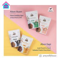 GRANDVILLE Abon Crunchy / Abon Sapi Ayam Original Spicy / Non MSG 100g