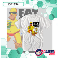 T Shirt DP1094 The Simpson Fat and Happy