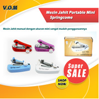 Springcome Mesin Jahit Portable Mini / Mesin Jahit Tangan Spring Come