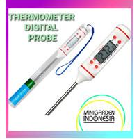 Thermometer Digital untuk akuarium / laboratorium /hidroponik AU006