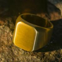 SINAR BERLIAN JEWELLERY - Cincin emas asli 750 pria polos