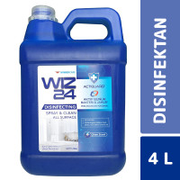 Wiz24 Spray & Disinfectant Clean Scent 4 Liter