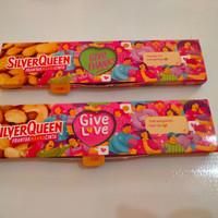 silverqueen 65 gram murah
