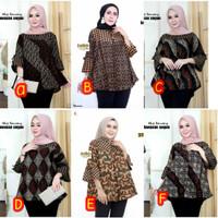 Blouse Batik - Baju Batik Kerja / Atasan Batik Wanita