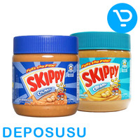 SELAI SKIPPY JAM - PEANUT BUTTER/SPREAD (CREAM / CHUNKY) 340g - Creamy