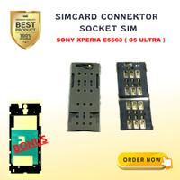 SIM SOKET/KONEKTOR SIM Card CONNEKTOR E5563 Sony Xperia C5 ULTRA