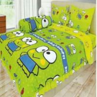 bed cover set Lady rose sprei Flat uk 160x200 motif Keroppi
