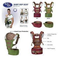 Baby Safe Baby Carrier Hip Seat BC005 - red