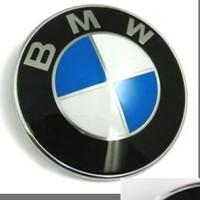 Emblem BMW biru putih 82mm kap mesin/bagasi