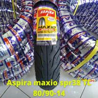 Ban Motor matic Aspira SPR 38 TL 80/90 ring 14 for Mio Vario Beat