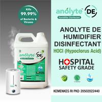 Anolyte Humidifier. Air Purifier Diffuser. Cairan Disinfektan 5 Liter