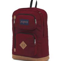 JanSport Backpack Austin Viking Red Maroon Tas Ransel Merah Original