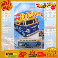 Die Cast Mobil Mobilan Hot Wheels Surfin School Bus Diecast Hotwheels