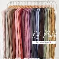 Rok Plisket Hyget Premium Size to XXL Rok Panjang Wanita Rok Jumbo